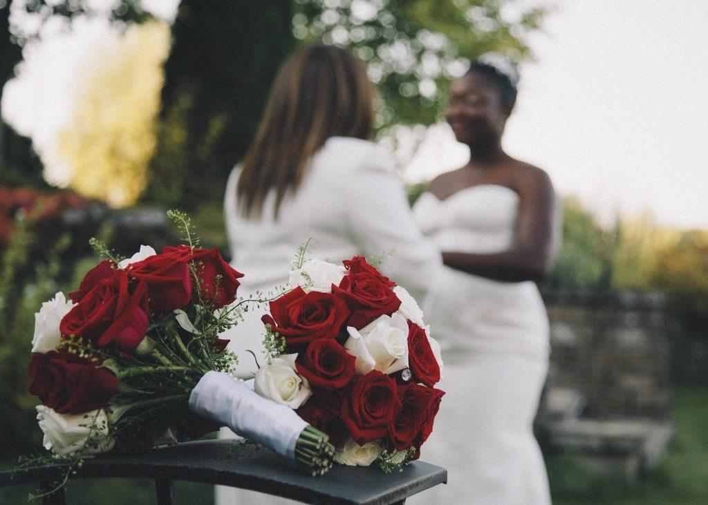 Image showing a same-sex wedding.